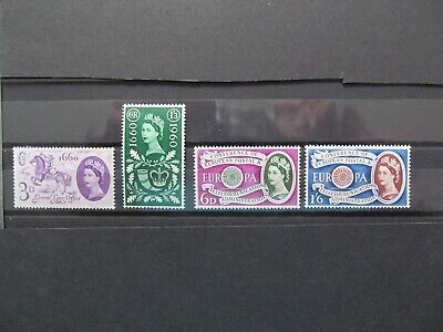 GB 1960 - All the Commemorative Sets - Unmounted Mint