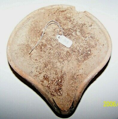 Middle Bronze age terra cotta oil lamp L919