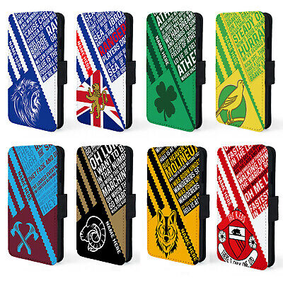Retro Football iPhone X XR XS Case Vintage Phone Cover Personalised ALL TEAMS