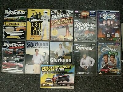 Top Gear And Clarkson DVD Bundle