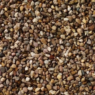 10mm Pea Gravel Mixed Small Pebbles Garden Aggregates Weed Control Fabric & Pegs