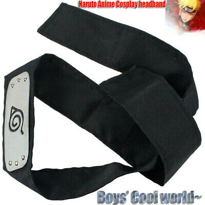 Naruto Anime Cosplay headband Anime headband Exercise Sweatband Head Band US New