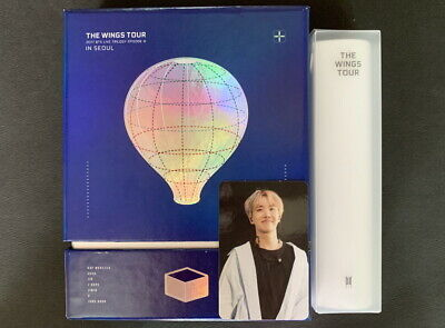 BTS-2017 Live Trilogy Episode III The Wings Tour in Seoul  DVD JHOPE PC+POSTER