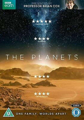 """THE PLANETS - Brian Cox - BBC DVD - """"One Family, Worlds Apart"""" Great Gift Idea"""