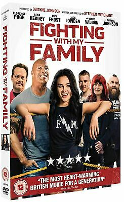 Fighting With My Family - 2019 UK DVD - Dwaynne Johnson - Great Gift Idea
