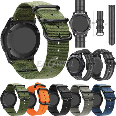 HOT Universal Quick Release Nylon Wrist Watch Band Sports Strap 20/22mm Gift WQ