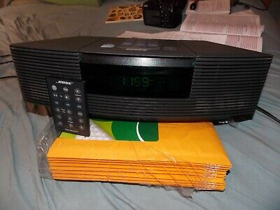 Bose Wave Radio CD Player Alarm Clock With Remote Works Perfectly