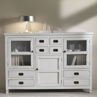 Credenza Bianca Shabby.Buffet Credenza Bianca Shabby Chic Provenzale Coloniale