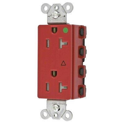 Hubbell SNAP2182RIGTRA Duplex Receptacle Decora Qty 5