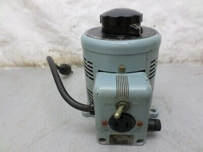 Superior Electric PN 116 Variac 0-140 Volt 7 1/2 Amp Variable Transformer
