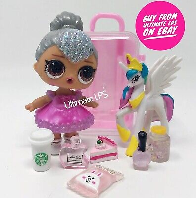LOL Surprise Doll Glam Glitter Kitty Queen In Ball Gown  - NEW