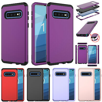 For Samsung Galaxy Note 10 Plus S10 Shockproof Hybrid Heavy Duty Back Case Cover