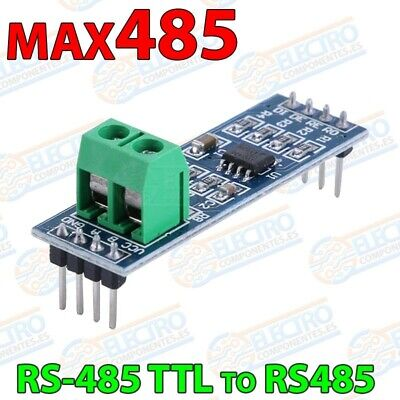 Modulo interfaz RS-485 MAX485 conversor Serial TTL - Arduino Electronica DIY