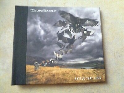 David Gilmour ‎– Rattle That Lock cd album 24-page hardback digibook
