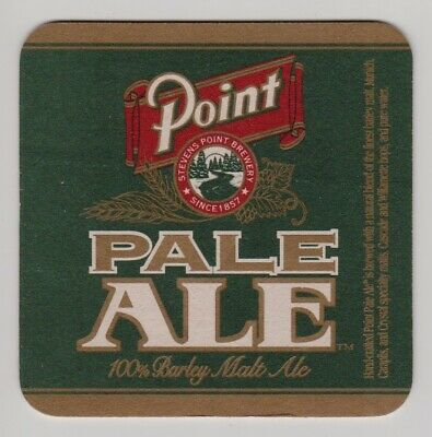 Steven's Point Brewery Wisconsin Pale Ale - Set of Two Pub Beer Coasters