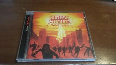 Nuclear Assault - Game Over / The Plague CD 1999 RE Century Media 66037-2