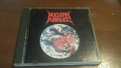 Nuclear Assault - Handle With Care CD 1st Press In-Effect CRT-3010