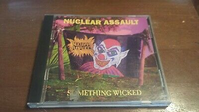 Nuclear Assault - Something Wicked CD 1st Press I.R.S. X2 0777 7 13172 24