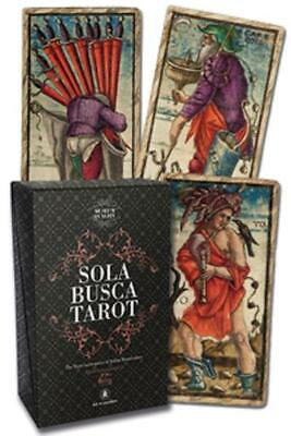 Sola Busca Tarot *Museum Quality* Kit Paola Gnaccolini 78-card deck 144-page BK