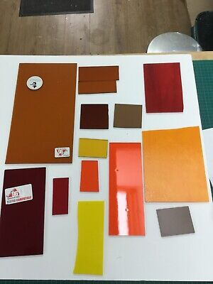 Fusing Glass Mixed Colours, Off-cuts System 96, 500g +