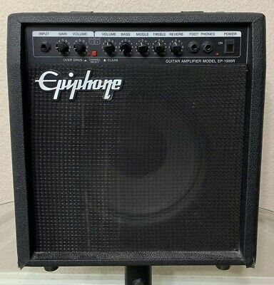 Vintage Epiphone EP-1000R 40w Guitar Practice Amp w/ Reverb Great Condition