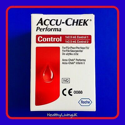 Accu Chek Performa Control Solution - 2.5ml -  For Performa and Inform II Meters
