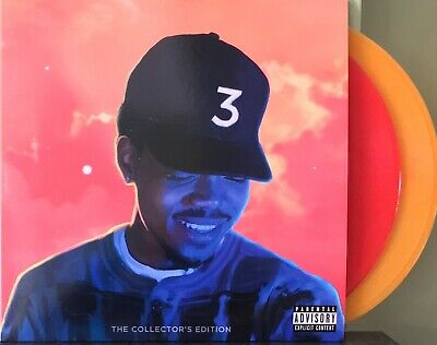 Chance The Rapper Coloring Book 2 X Lp Colored Collector's Edition