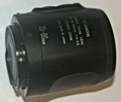 Canon EF 35-80mm  f4:5.6 powerzoom  lens will fit EOS Digital