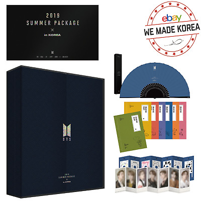 [Pre-Order] BTS 2019 Summer Package Vol.5 in Korea Official K-POP Authentic MD