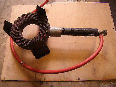 Propane gas ring heavy duty with on/off knob and pipe..working order