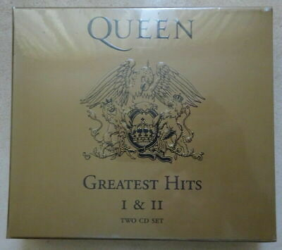Brand New Sealed QUEEN GREATEST HITS I & II Two CD box Set. free postage.