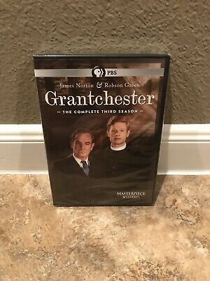 Grantchester: The  Complete Third Season 3 (DVD, 2018, 3-Disc Set) NEW