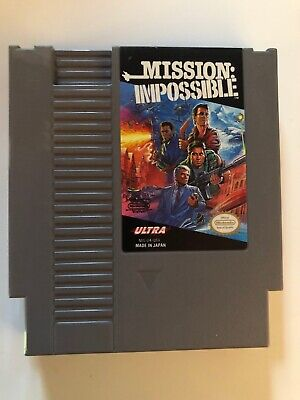 Mission: Impossible (Nintendo Entertainment System,1990) NES