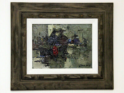 Oil on Board Framed Signed Gorgeous Painting