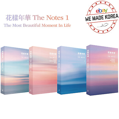 BTS 花樣年華 The Note 1 'The Most Beautiful Moment In Life' Book Authentic K-POP MD