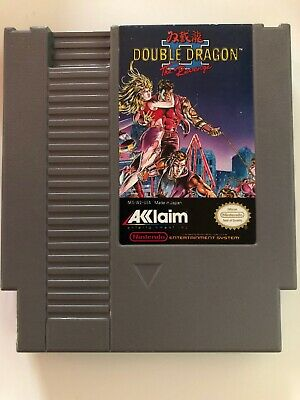 Double Dragon II: The Revenge (Nintendo Entertainment System,1990) NES
