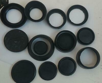 Assorted Lens hoods and Caps - as pictured