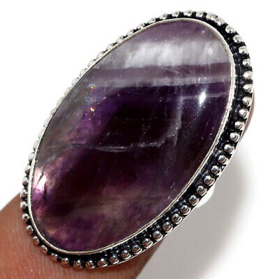 E20948 Amethyst Lace 925 Sterling Silver Plated Ring Us 6