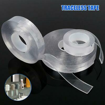 Removable Magical Nano PU Gel Traceless Double-Sided Adhesive Tape Washable Pro