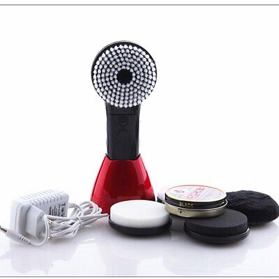 Portable Handheld Automatic Electric Shoe Brush Shine Polisher for Leather Bags