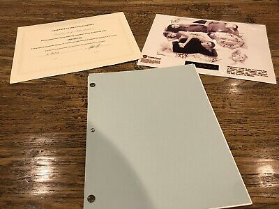 Friends Pilot Script Signed