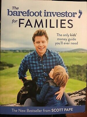 The Barefoot Investor for Families By Scott Pape Paperback Free Shipping Guide