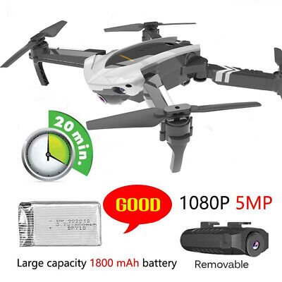 XYCQ Foldable WIFI FPV RC Quadcopter Drone with 1080P 5.0MP Camera Selfie Drone