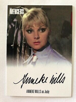 2019 The Avengers Complete Collection Anneke Wills Auto Avaw2 Unstoppable Cards
