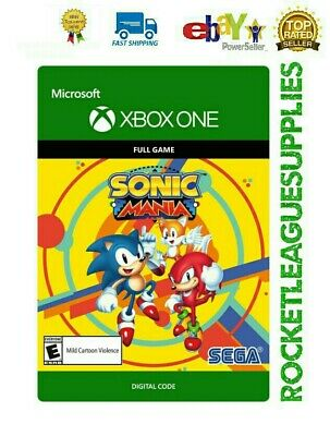 Sonic Mania FULL GAME Digital Download Code DLC 🔑 for Xbox One (Worldwide)