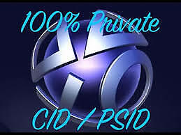 PS3 CONSOLE ID ps3 CID IDPS PSID , unban your ps3 - price