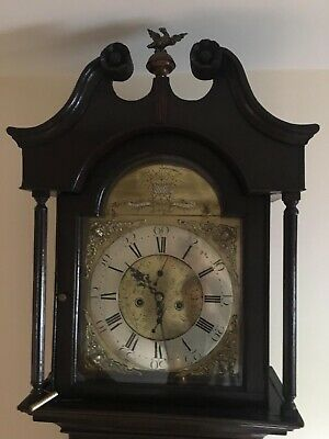 Irish Longcase Clock Aickin Lurgan