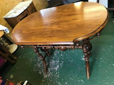 Wooden Ornate Table - Victorian