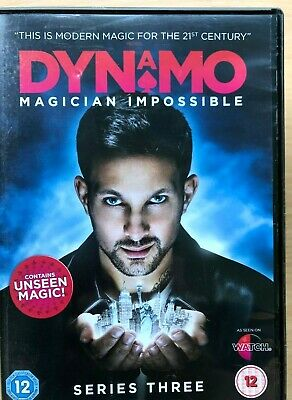 Dynamo Magician Impossible Temporada 2 DVD Caja Set British Calle Magia TV Serie