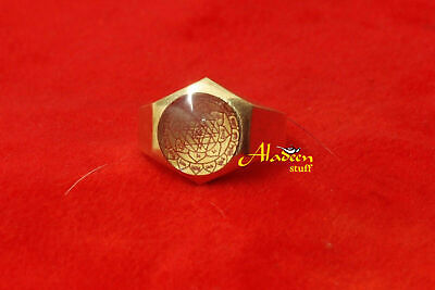 1Rapid Money & Luck Attracting Magic Ring 999 Spells Wealth Lottery Success NR